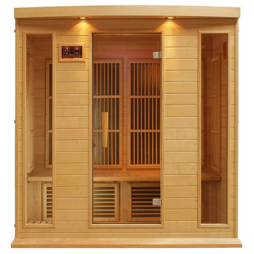 dynamic infrared 4 person carbon far infrared sauna - Infared Sauna