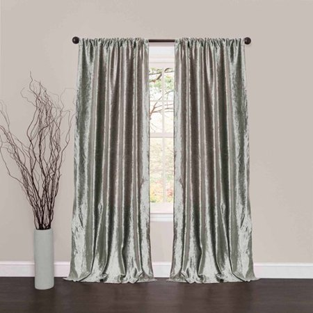 - Velvet Dream Silver Bells Window Curtains, Pair