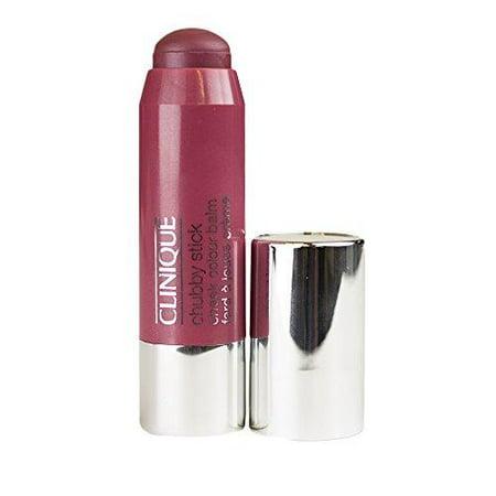 clinique chubby stick cheek color balm 0.13oz/3.6g 04 plumped up peony - blushing plum ()