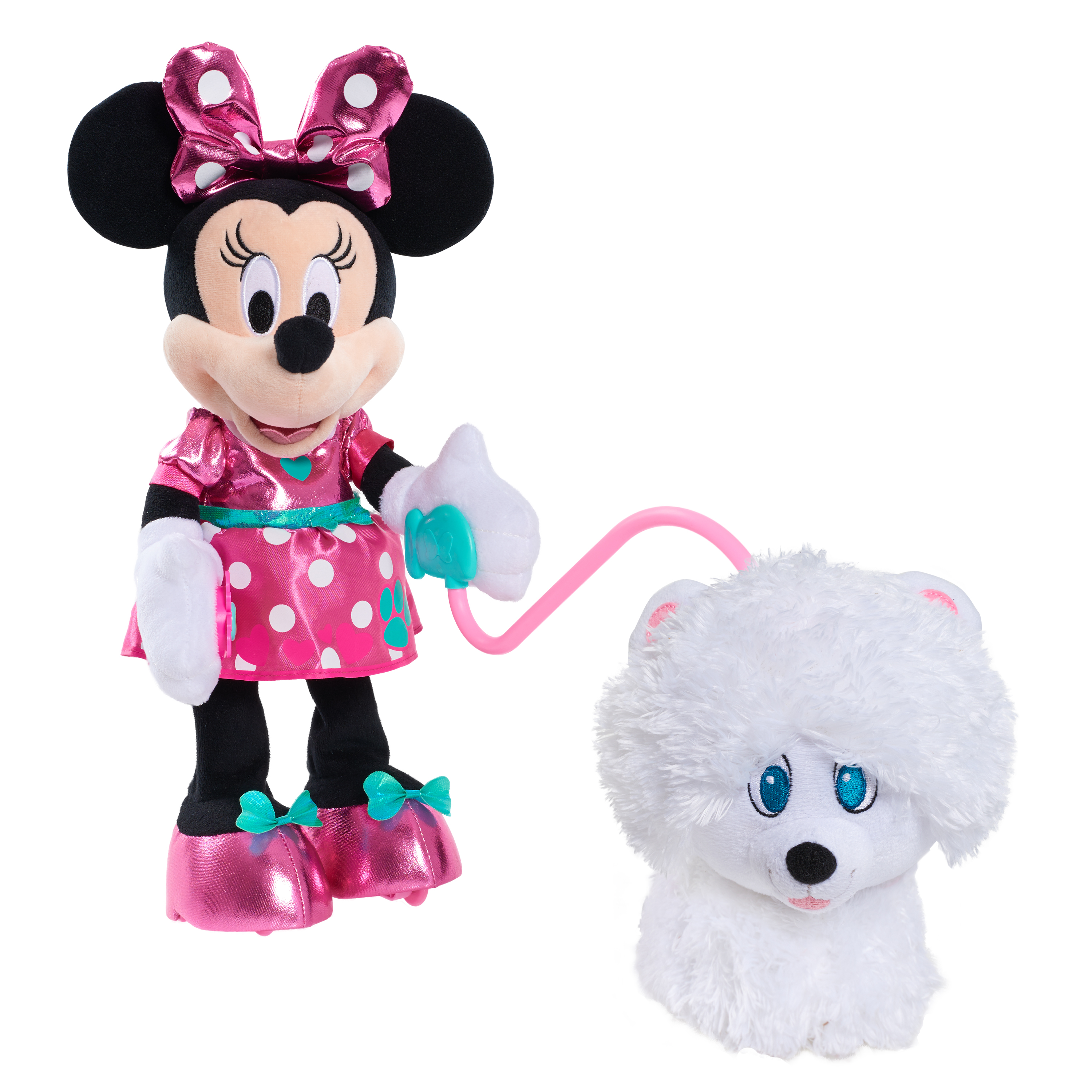 Minnie's Walk & Play Puppy Feature Plush by Just Play