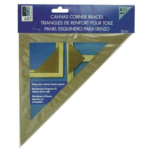 Canvas Corner Braces 8-Inch