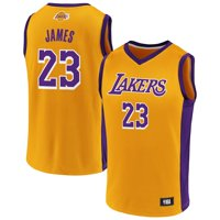 LeBron James Los Angeles Lakers Fanatics Branded Rival Baseline Jersey - Gold