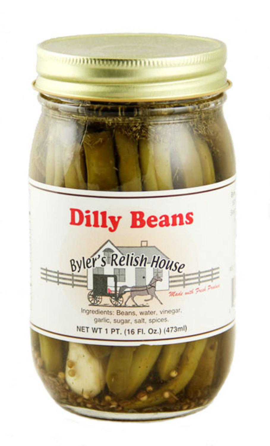 Byler's Relish House Homemade Amish Country Dilly Beans 16 oz. by Byler's Relish House