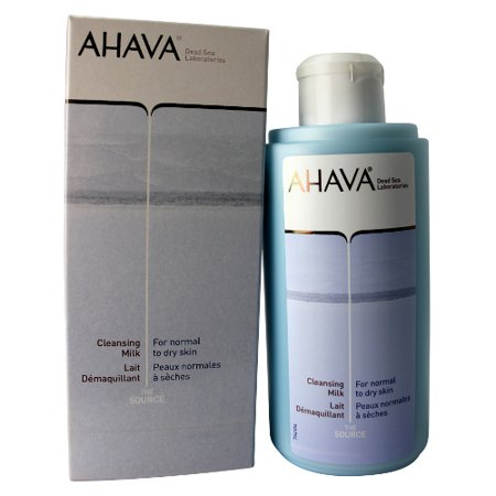 Ahava Cleansing Milk for Women for Normal to Dry Skin 8.5 oz. New in