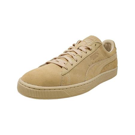 the best attitude 717e0 18146 Puma Men's Classic Tonal Suede Natural Vachetta Ankle-High Fashion Sneaker  - 10M