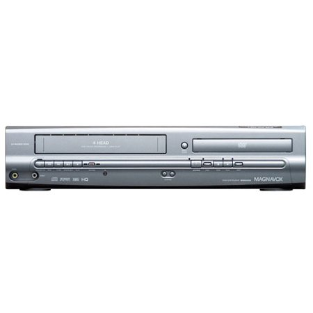 Magnavox MWD2205 DVD/VCR Combo (refurbished) remote, manual, AV cords included. (Vhs Dvd Player)