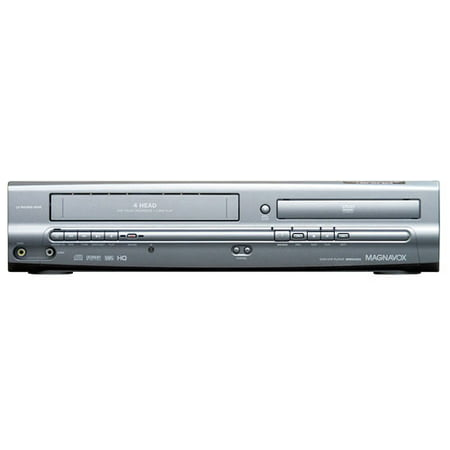Magnavox MWD2205 DVD/VCR Combo (refurbished) remote, manual, AV cords included.