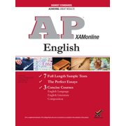 AP English: Language, Literature, and Composition Exam, 2018 Edition (College Test Preparation)