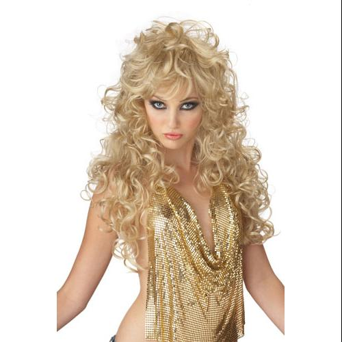 Adult Blonde Seduction Wig for Halloween costume