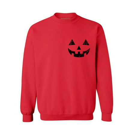 Awkward Styles Pumpkin Face Sweatshirt for Men Women's Halloween Sweater Spooky Sweater Jack-O'-Lantern Pumpkin Sweatshirt Pumpkin Sweater for Halloween Scary Outfit Funny Halloween Gifts Unisex