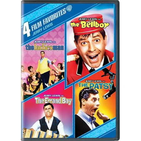 4 Film Favorites: Jerry Lewis ( (DVD))