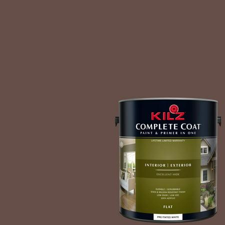 KILZ COMPLETE COAT Interior/Exterior Paint & Primer in One #LM160 Tonka Bean