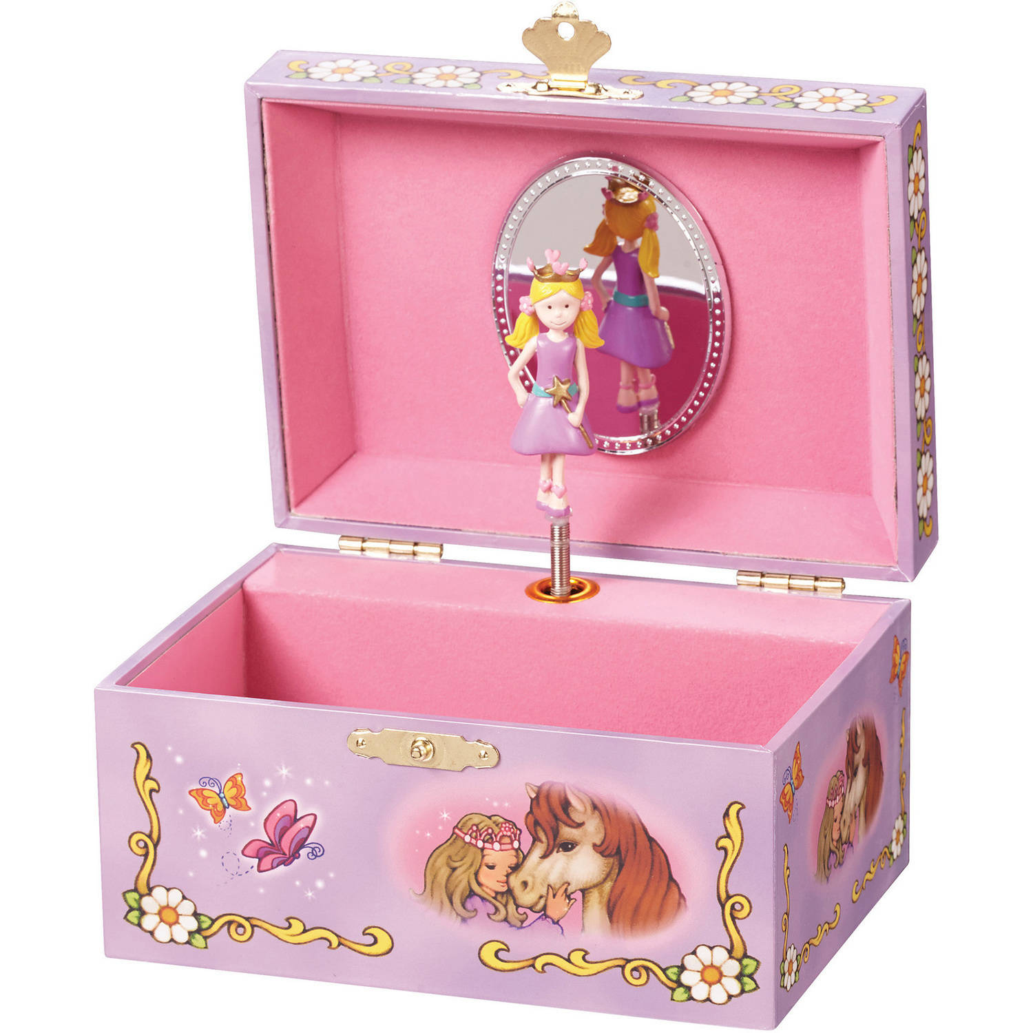 Enchantmints Butterfly Princess Music Box by Reeves International