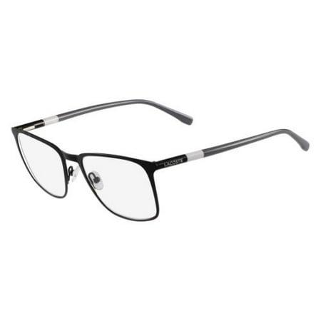 febe4baabcbe LACOSTE Eyeglasses L2219 001 Matte Black 53MM - Walmart.com