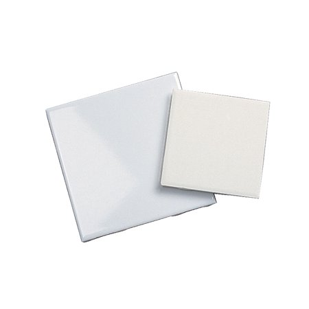 AMACO Decorated Ceramic Tile with Low Fire Glazes, 6 X 6 -