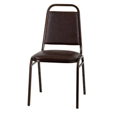 Vinyl Stacking Chair - Flash Furniture HERCULES Series Trapezoidal Back Stacking Banquet Chair with Vinyl and 1.5