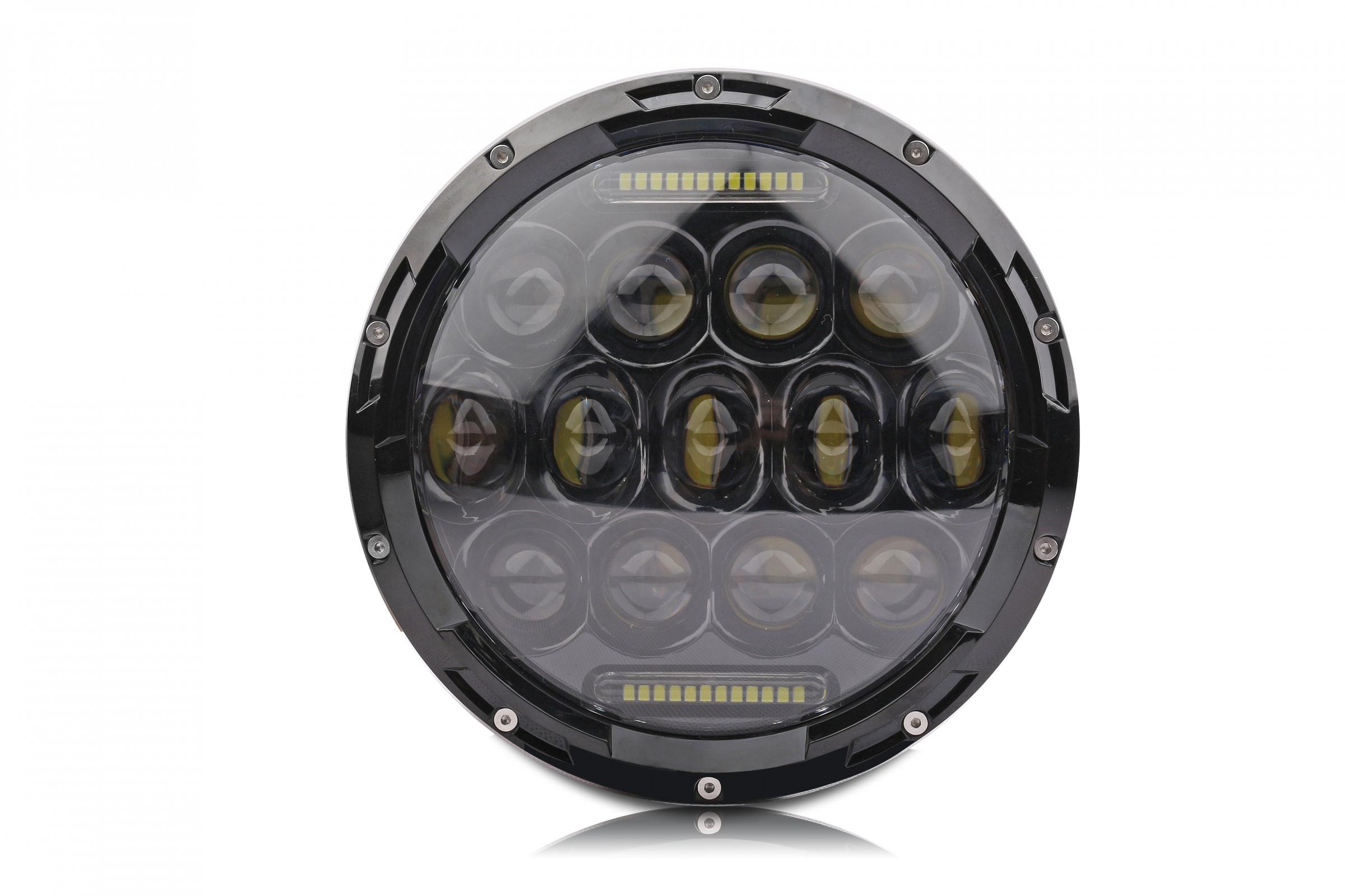 7 LED Headlight Round LED Headlights Single Lifetime LED Lights
