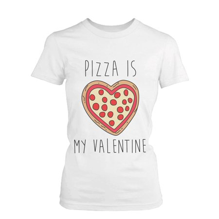 706465d9 365 Printing inc - Unisex Pizza Is My Valentine Funny Graphic Tee ...