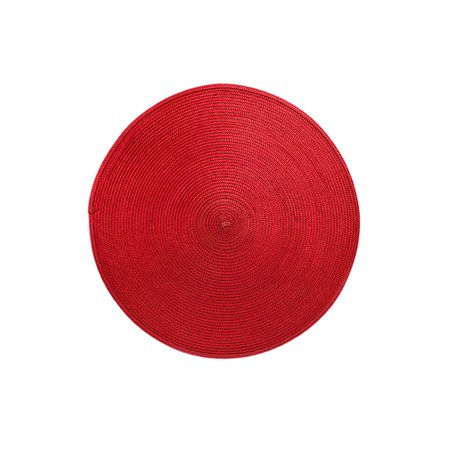 Red Round Placemats (Rotunda Round 15