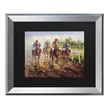 Trademark Fine Art 'Kentucky Derby' Canvas Art by Masters Fine Art (Kentucky Derby Decor)