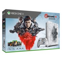 Microsoft Xbox One X 1TB Gears 5 Limited Edition Console Bundle, White, FMP-00130