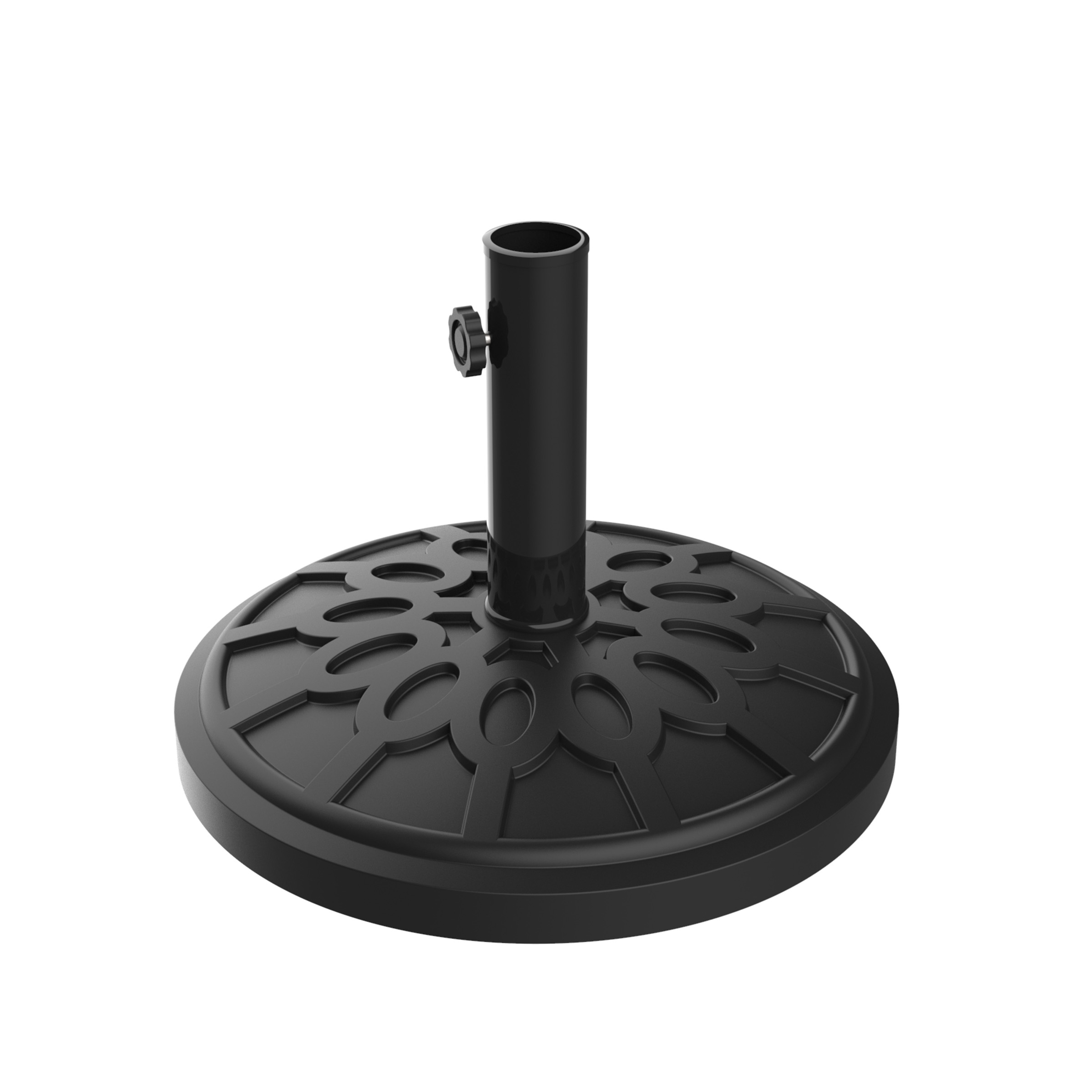 "Umbrella Base Outdoor Patio Umbrella Holder, Heavy Weight Holds Up To 1.9"" Pole Freestanding, Table, Deck, Balcony, Backyard, Poolside by Pure Garden"