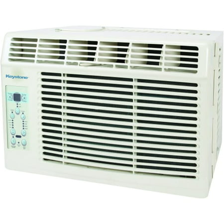 Keystone KSTAW06B Energy Efficient 6,000-BTU 115V Window-Mounted Air Conditioner with