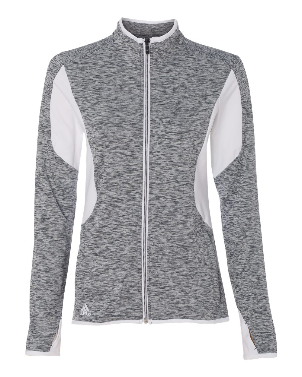Adidas Golf Women s Space Dyed Full-Zip Jacket 7ba4fef83f