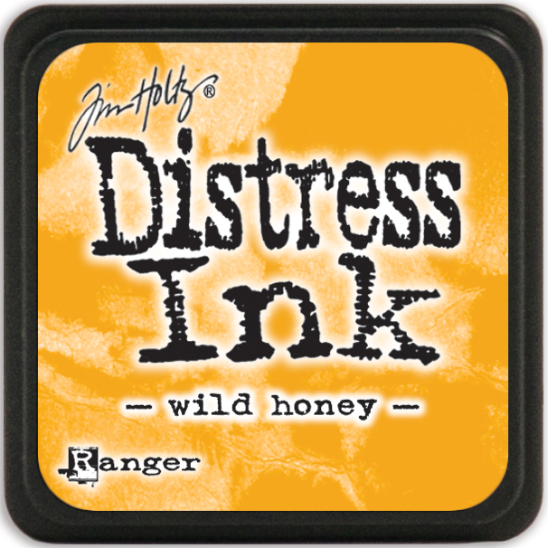 Distress Mini Ink Pad-Wild Honey