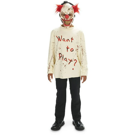 Carn-Evil Lively Clown Child Halloween Costume - Mbm Halloween