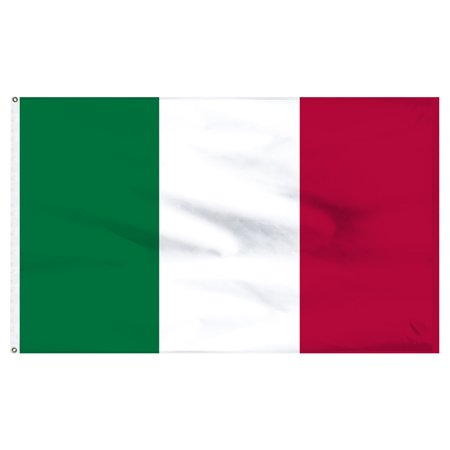 Outdoor Italian - Italy 2ft x 3ft Nylon Flag - Outdoor