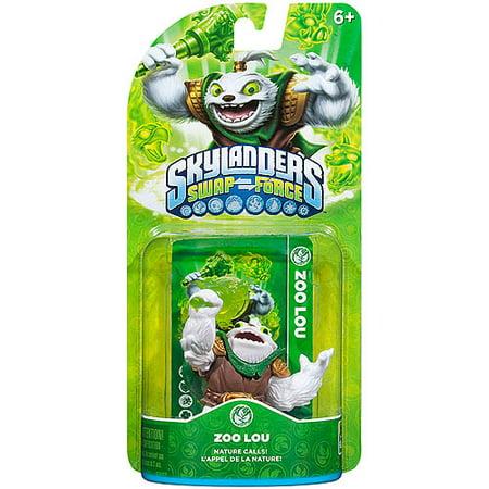 Skylanders Swap Force Zoo Lou Character Pack (Skylanders Swap Force Lightcore Grim Creeper Character)