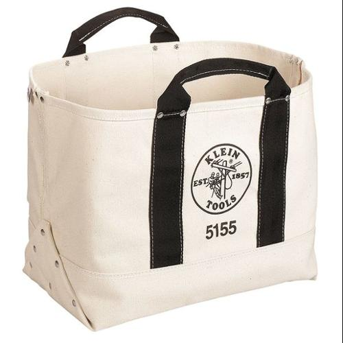 Klein Tools Tool Tote, #6 Canvas, Natural, 5155