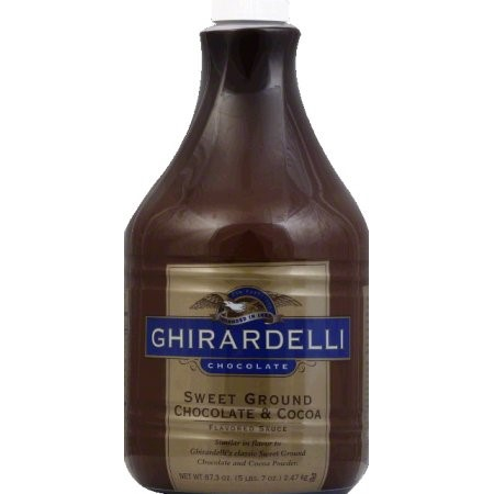Sweet Ground Chocolate & Cocoa Flavored Sauce, 87.3 FO