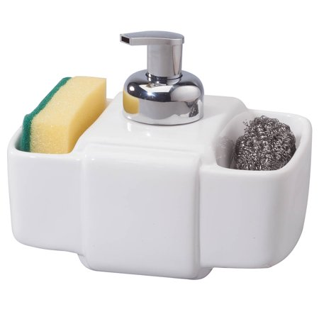 - 3 Section Ceramic Soap Dispenser