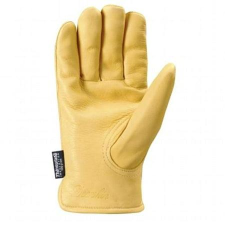 Men S Deerskin Winter Work Gloves 100 Gram Thinsulate