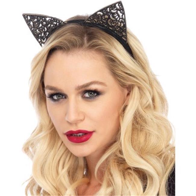 Cat Ears Filigree Adult Halloween Headband - image 1 of 1