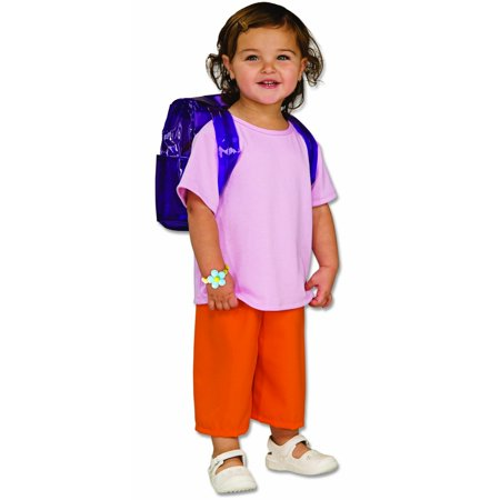 Deluxe Dora the Explorer Toddler Costume - Daria Costume