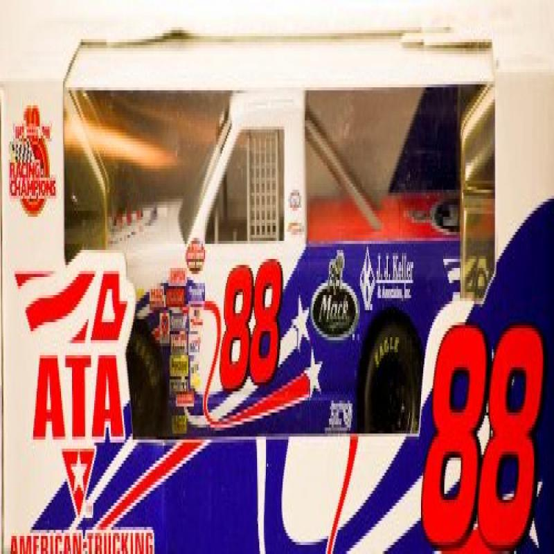 1999 Racing Champions 10th Ann ATA   American Trucking Assoc Terry Cook #88 Nascar Chevy Truck MACK 1:24 Scale... by