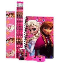 Stationery Set - Frozen - Pink - Favor Set