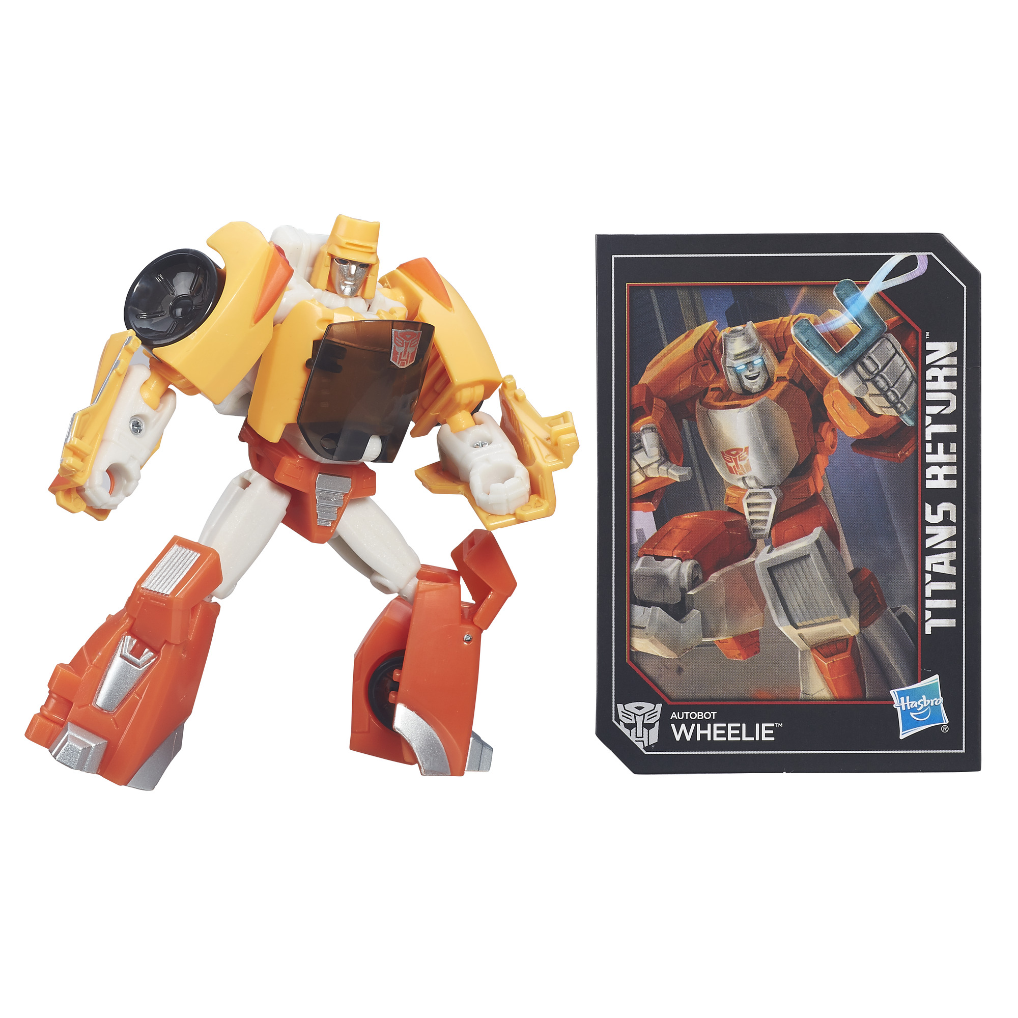 Transformers Titans Return Wheelie Action Figure
