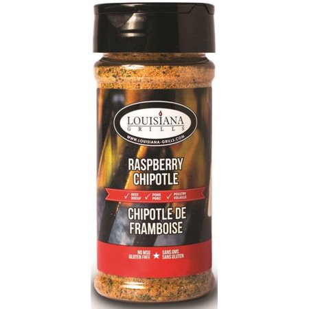 Louisiana Grills 50518 Raspberry Chipotle Rub, 5 oz per 6 (Chipotle Grilling)
