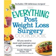 Everything (Health): The Everything Post Weight Loss Surgery Cookbook (Paperback)