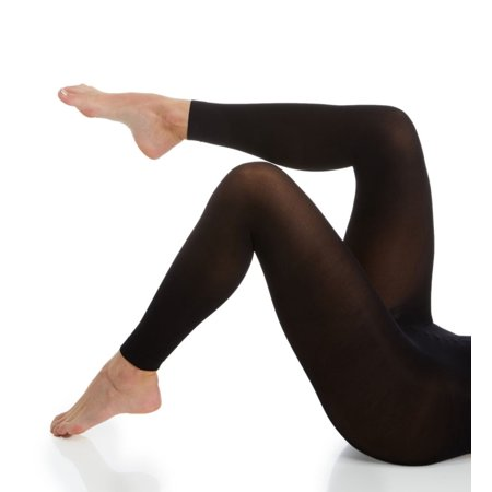 Footless Tights For Women (Women's Hanes HFT014 Opaque Footless Comfort Waistband Tights)