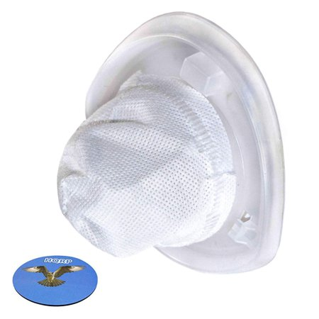 HQRP Filter for Black+Decker HNV115B, HNV115J, HNV215B, HNV220B series Hand Vac Vacuum Cleaners, EVF100 Replacement + HQRP Coaster