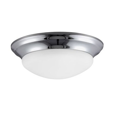 Sea Gull Lighting 79434BLE Nash 1 Light Energy Star Flush Mount Ceiling Fixture ()