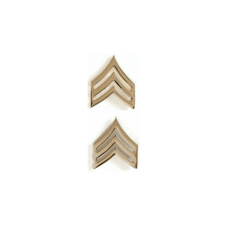 Us Army Unit Insignia (US Army Sergeant Gold Collar Rank Insignia )