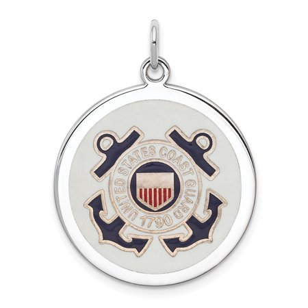 Roy Rose Jewelry Sterling Silver US Coast Guard