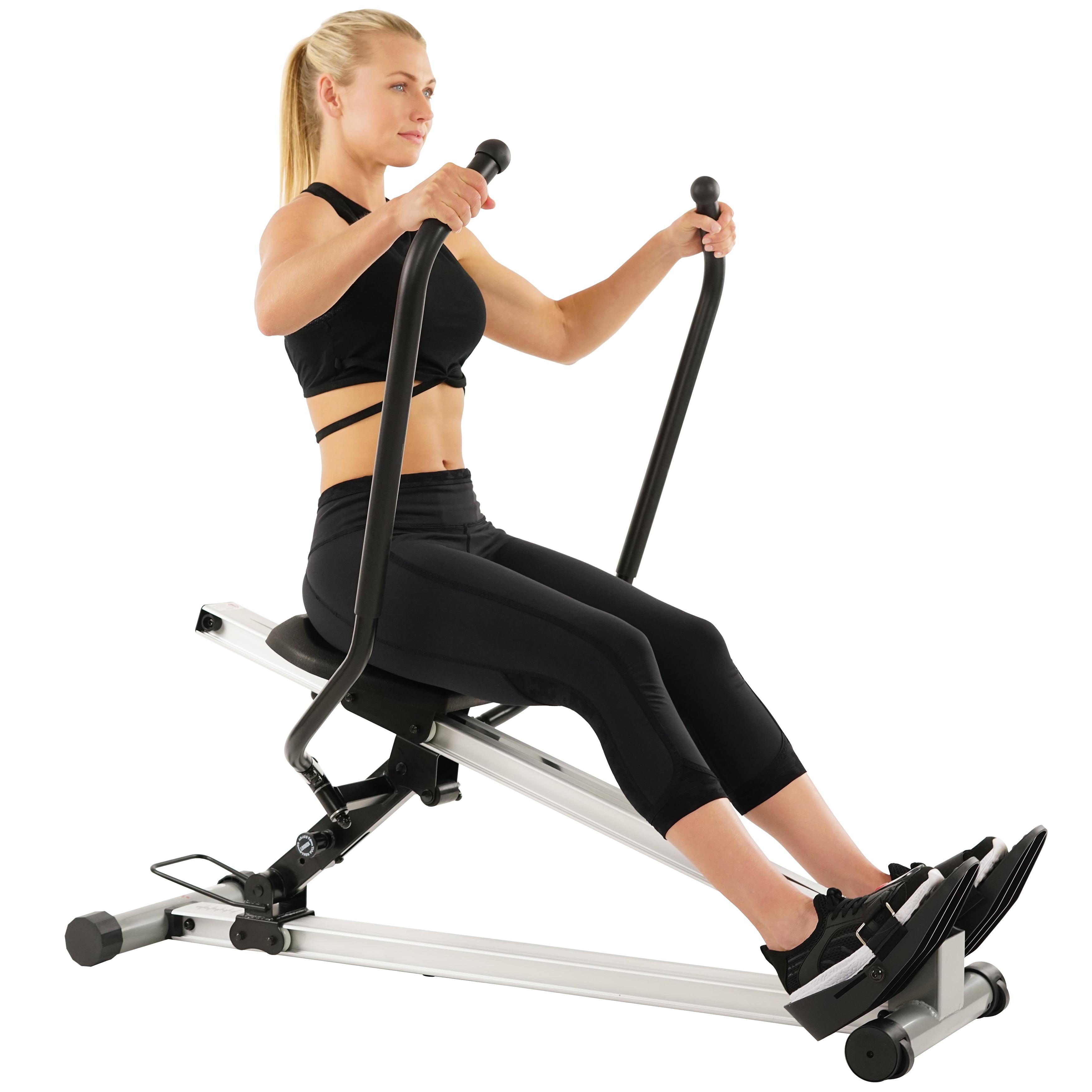 Sunny Health & Fitness SF-RW5720 Full Motion Rower, 350lb Weight Capacity
