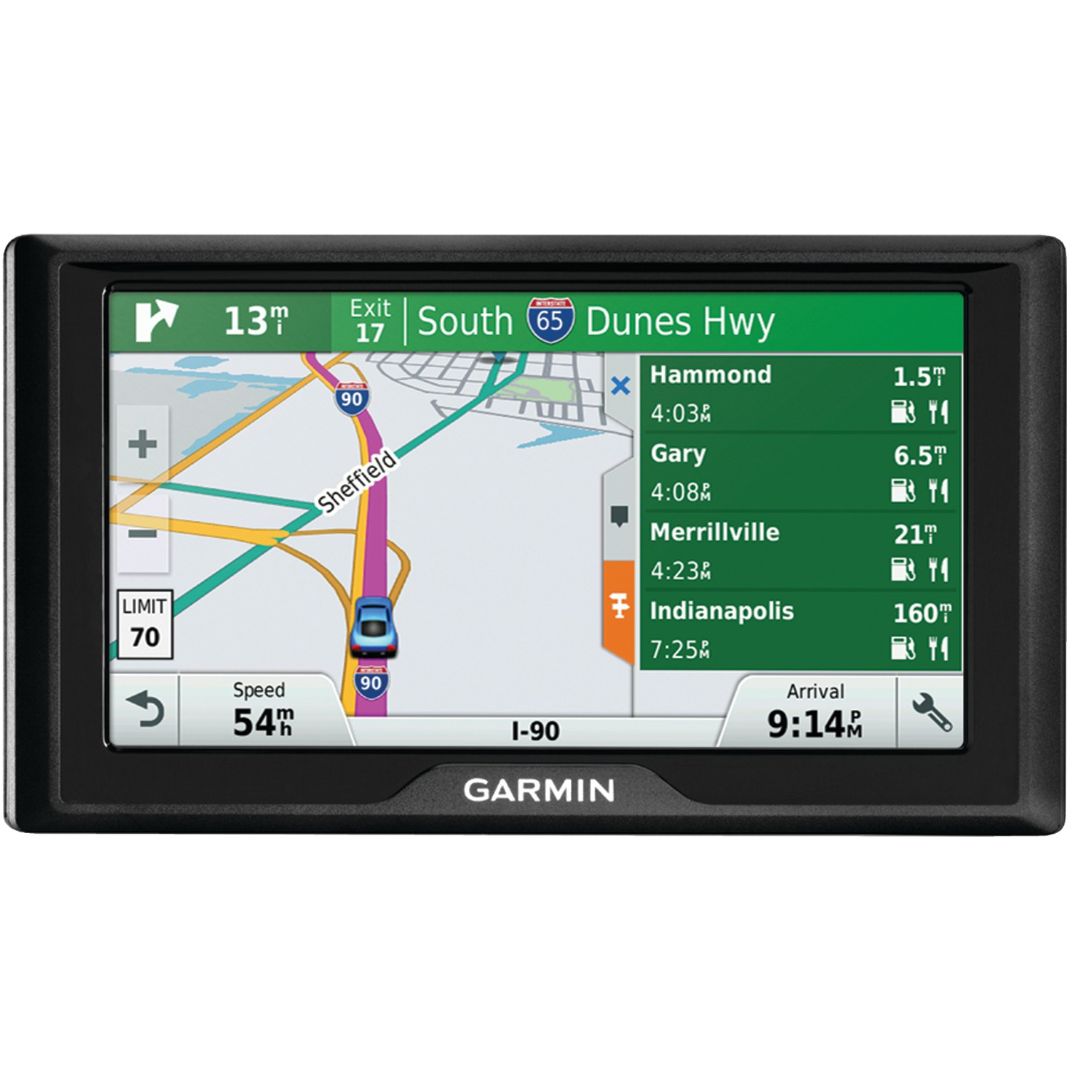 """Garmin 010-01533-07 Drive 60 6"""" Gps Navigator (60lm, With Free Lifetime Map Updates For The Us & Canada)"""